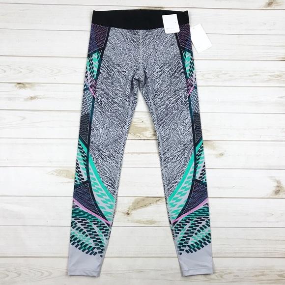 6d215c8c62 GAP Pants | New Gfast Leggings Workout Colorful Print | Poshmark